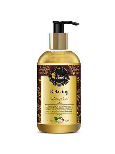 Oriental Botanics White Relaxing Body Massage Oil 200ml
