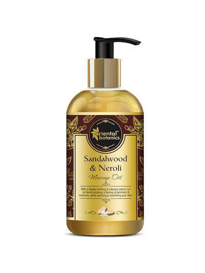 Oriental Botanics White Sandalwood & Neroli Body Massage Oil 200ml