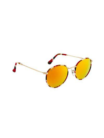 Ted Smith Unisex Oval Sunglasses TS3447-CP