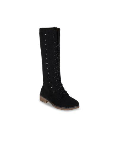 Shuz Touch Women's Black Boots (40)