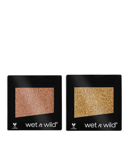 Wet n Wild Set Of 2 Glitter Single Eyeshadow