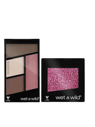 Wet n Wild Glitter Single & Quads Eyeshadow Set