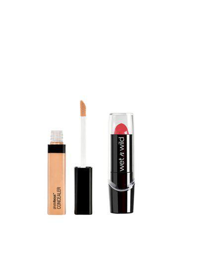 Wet n Wild Set Of Concealer & Lipstick