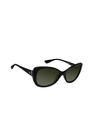 David Blake Women Cateye Sunglasses SGDB1554x8433BLK