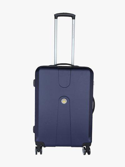68 Cm Navy Blue 8W Medium Hard Luggage Strolley