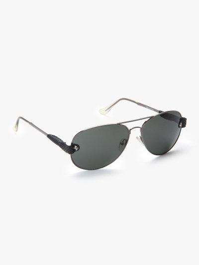 13256-F Grey/Black Aviator