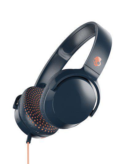 Skullcandy Blue Riff S5PXY-L636 On-Ear Headphone with Mic