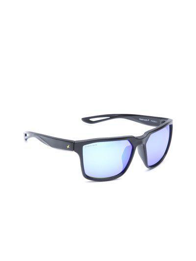Fastrack Men Mirrored Square Sunglasses P409BU1