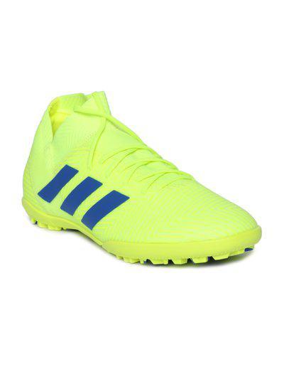 ADIDAS Men Fluorescent Green NEMEZIZ 18.3 TF Football Shoes