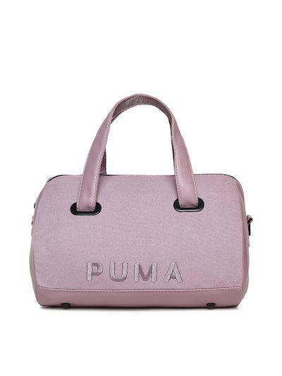 Puma Lavender Solid Handheld Bag