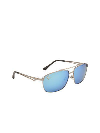 Clark N Palmer Unisex Blue Square Sunglasses CNP-B16003-C3