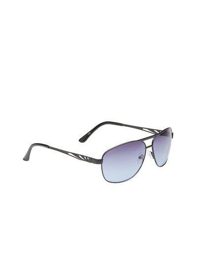 VAST Unisex Aviator Sunglasses AVIATOR_1005_BLACK_BLUE