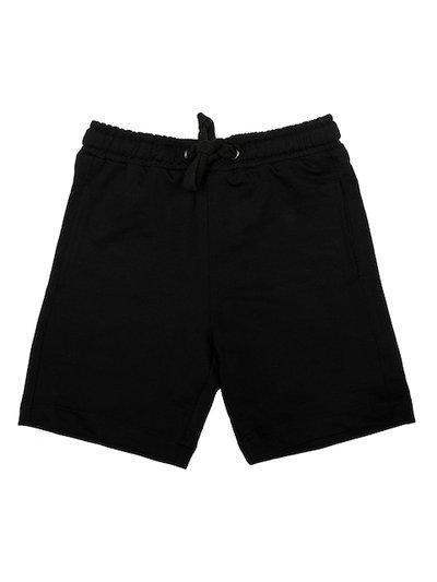 Wear Your Mind Boys Black Solid Regular Fit Regular Shorts