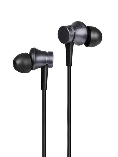 Mi Unisex Black Basic Wired Headset with Mic