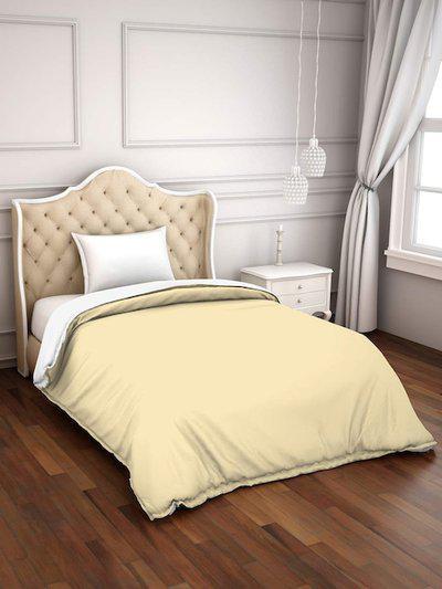 SPACES Cream-Coloured Hygro 150 GSM Single Bed Duvet Cover