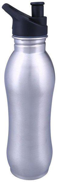 Lovato Stainless Steel Silver Water Bottle ( 500 ml , Set of 1 )