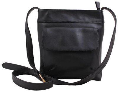 P&Y Fashion Synthetic Black Men's Messenger Bag