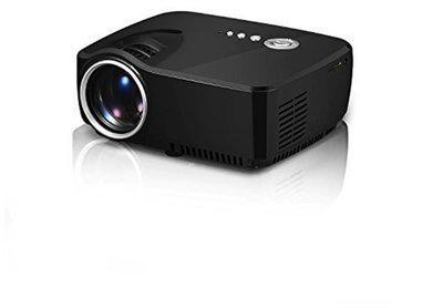 Vivi Bright GP70 LED Projector 1200 lumens 800x480 Multimedia Beamer Mini Portable 1080p