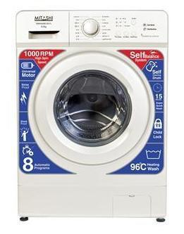 Mitashi 6 Kg Fully automatic front load Washing machine - WMFA600K100 FL , White