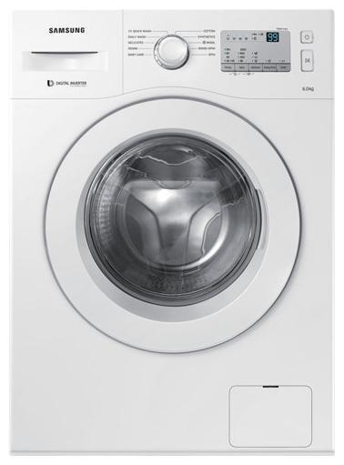 Samsung 6 Kg Fully automatic front load Washing machine - WW60M206LMA/TL , White