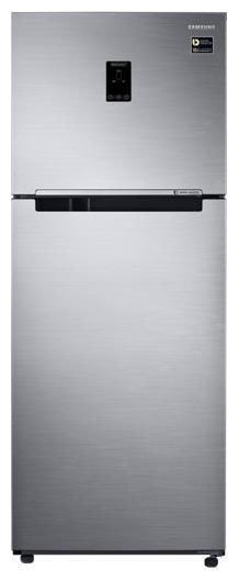 Samsung 394 L 3 star Frost free Refrigerator - RT39M5538S9 , Refined inox