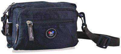 my pac db Unisex Polyester Black Sling Bag