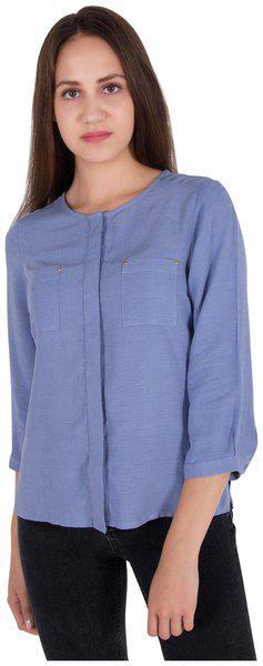 Cattleya Front Open Long Sleeve Top
