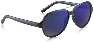 Fastrack Black Aviators Sunglassess