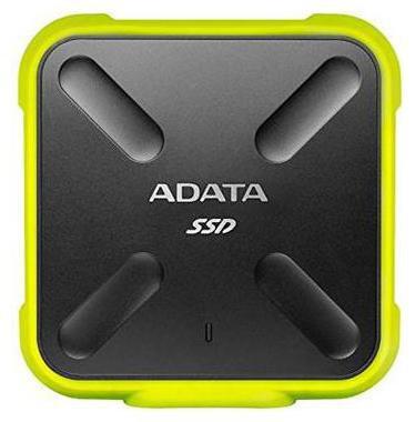 Adata 256 GB Hard Disk Drive External Hard Disk USB 2.0 - Yellow , SD700