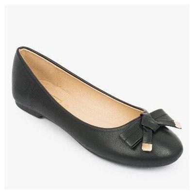 Truffle Collection Women's Cs002 Black Synthetic Ballerinas6