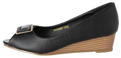 Allen Solly Black Wedges