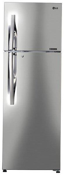 LG 284 L 3 star Frost free Refrigerator - C302RPZU , Shiny steel