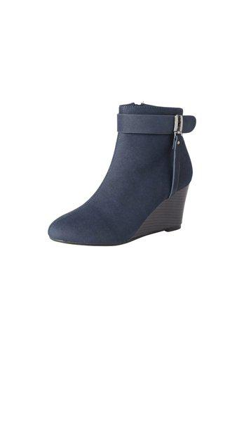 Allen Solly Blue Wedges