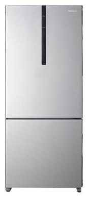 Panasonic 407 Ltr 3 Star Frost Free Refrigerator - NR-BX418VSX1 , Shining Silver
