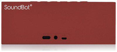 SoundBot SB571 Bluetooth Speakers (Red)