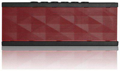 SoundBot SB571 Bluetooth Speakers (Red/Black)