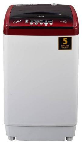 Onida 6.2 Kg Fully automatic top load Washing machine - T62CRD , Lava red