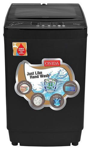 Onida 6.5 Kg Fully automatic top load Washing machine - T65GRDG , Grey
