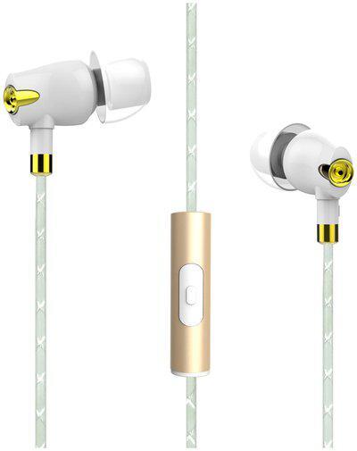 boAt Nirvaanaa Bliss White In-Ear Wired Headphone ( White )