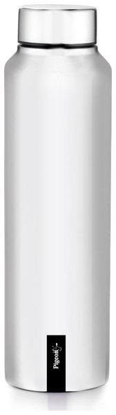 Pigeon 1000 ml Stainless Steel Silver Water Bottles - Set of 1