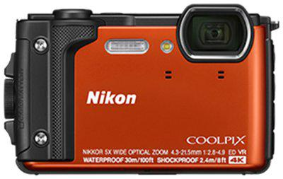 Nikon COOLPIX W300 16 MP Point & Shoot Camera (Orange)