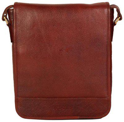 Scharf Brown Leather Sling bag