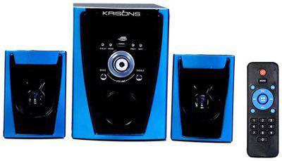 Krisons 2.1 Bluetooth Speaker ( Black & Blue )