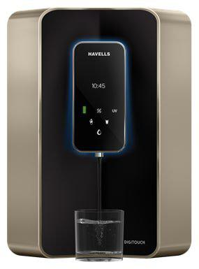 Havells Digitouch 7 L RO plus UV Electric Water Purifier (Black)
