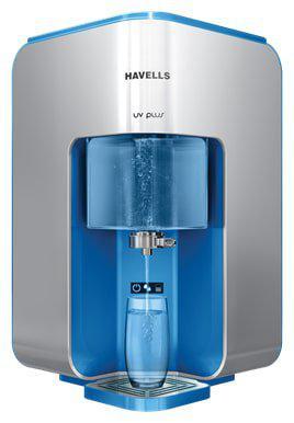 Havells UV Plus 8 L UV plus UF Electric Water Purifier (Silver & Blue)