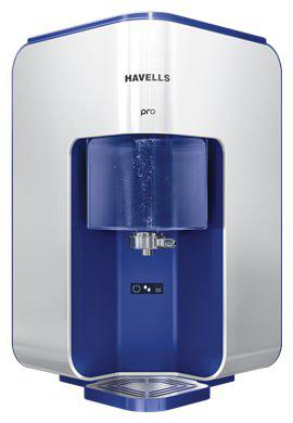 Havells Pro 8 L RO plus UV Electric Water Purifier (Silver)