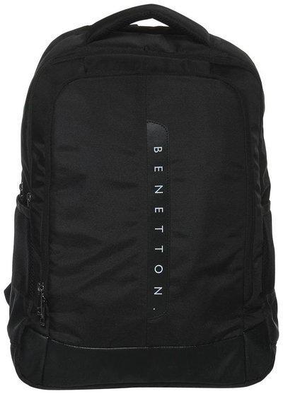 United Colors of Benetton LAPTOP BACKPACK BLACK 30 L Laptop Backpack(Black)