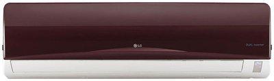LG 1.5 Ton 3 star Inverter Split ac ( Copper Coil , JS-Q18RUXA , Nova red )