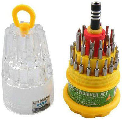 Jackly Multicolor Screw Driver (Set Of 31 Pcs)