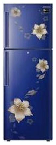 Samsung 253 L 2 star Frost free Refrigerator - RT28N3342U2 , Blooming saffron black